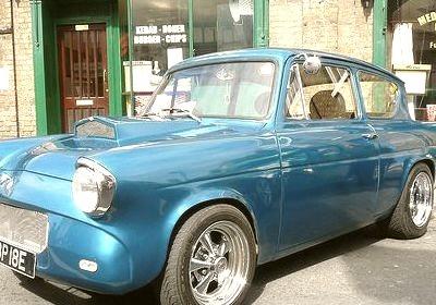 67 Ford Anglia V8 Hot Rod Custom