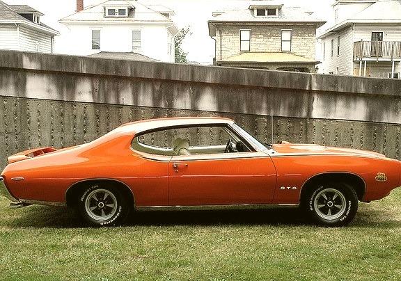 69 Pontiac GTO Judge