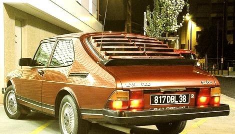 81 Saab 900