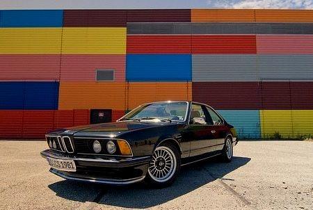 81 BMW 635 CSi