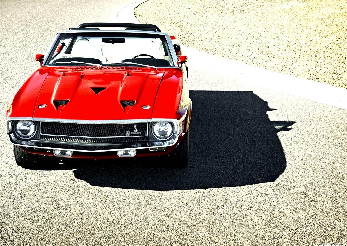 1969 Shelby GT500 Convertible 428 Cobra Jet
