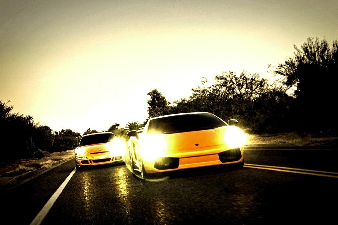 Double, Double, Toil and Trouble - Porsche GT3 RS and Lamborghini Superleggera - Happy Halloween!